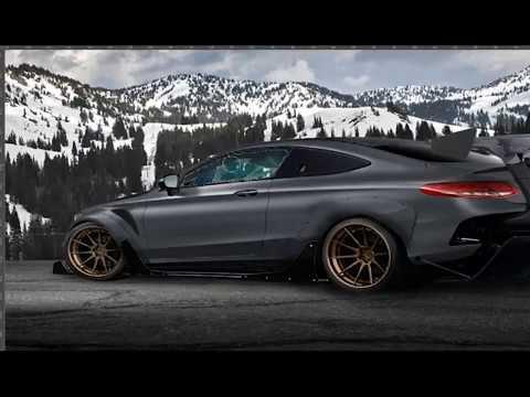 Photoshop tuning car 2018 Mercedes benz AMG C43 Coupe {bungzeed}