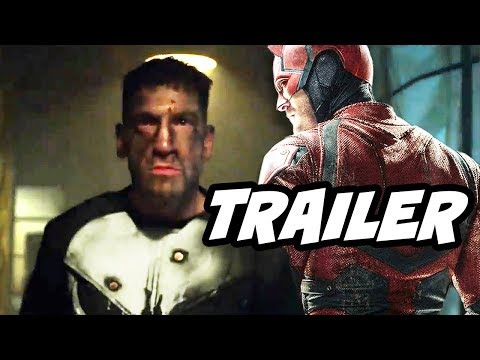The Punisher Teaser Trailer 2 and Daredevil Season 3 Theory