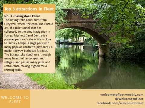 Top Three attractions in and around Fleet Hampshire