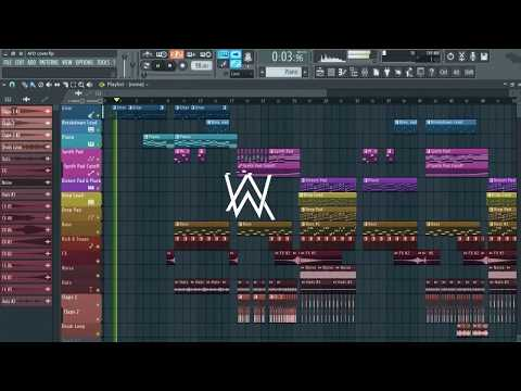 Alan Walker  All Falls Down Instrumental