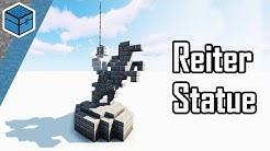 Minecraft Statue bauen | Minecraft Reiter Statue bauen deutsch (eng. Subtitle)