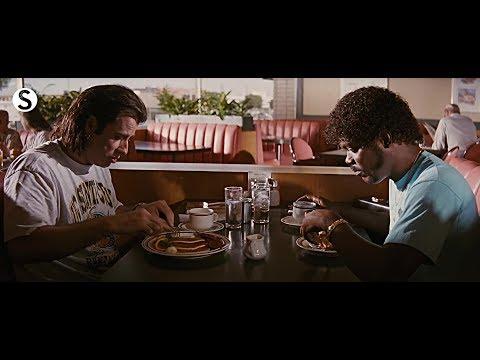 Pulp Fiction Breakfast Scene
