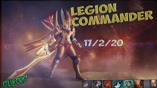 Legion Commander(full game) | школьник выиграл аркану на фантомку | Dota 2