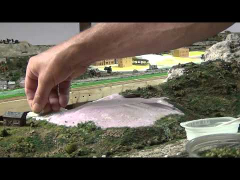 Building Scenery For N-Scale Model Railroads