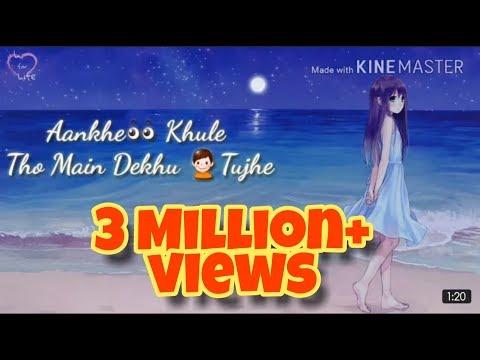 Main Phir Bhi Tumko Chahungi   By Sharddha Kapoor   Love Song   Whatsapp Status   Female Version