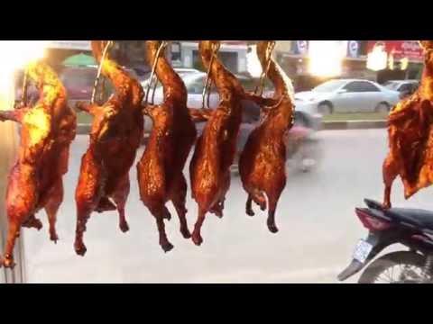 Phom Penh Street food   Asian Travel Food, Cambodia Roasted duck #16