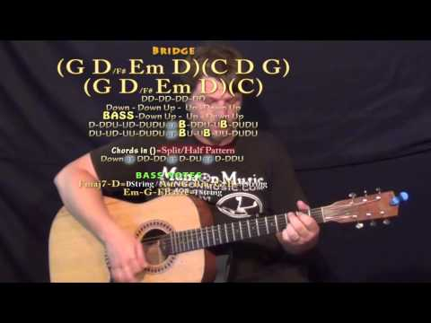 Save It For A Rainy Day (Kenny Chesney) Guitar Lesson Chord Chart