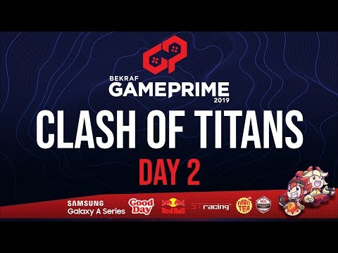 GRAND FINAL MOBILE LEGENDS TOURNAMENT - CLASH OF TITANS BEKRAF GAME PRIME 2019