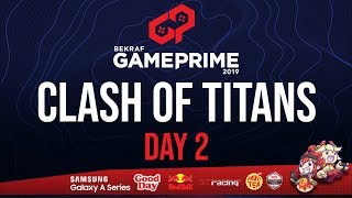 GRAND FINAL MOBILE LEGENDS TOURNAMENT - CLASH OF TITANS BEKRAF GAME PRIME 2019