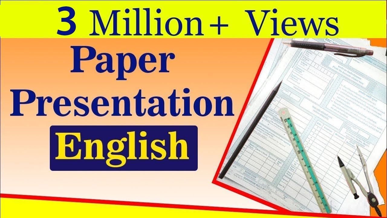 english paper presentation tips for students