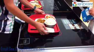 RFID dining checkout system