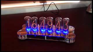 Nixie Clock - In-18 - Acrylic Base - Retro And Funky!