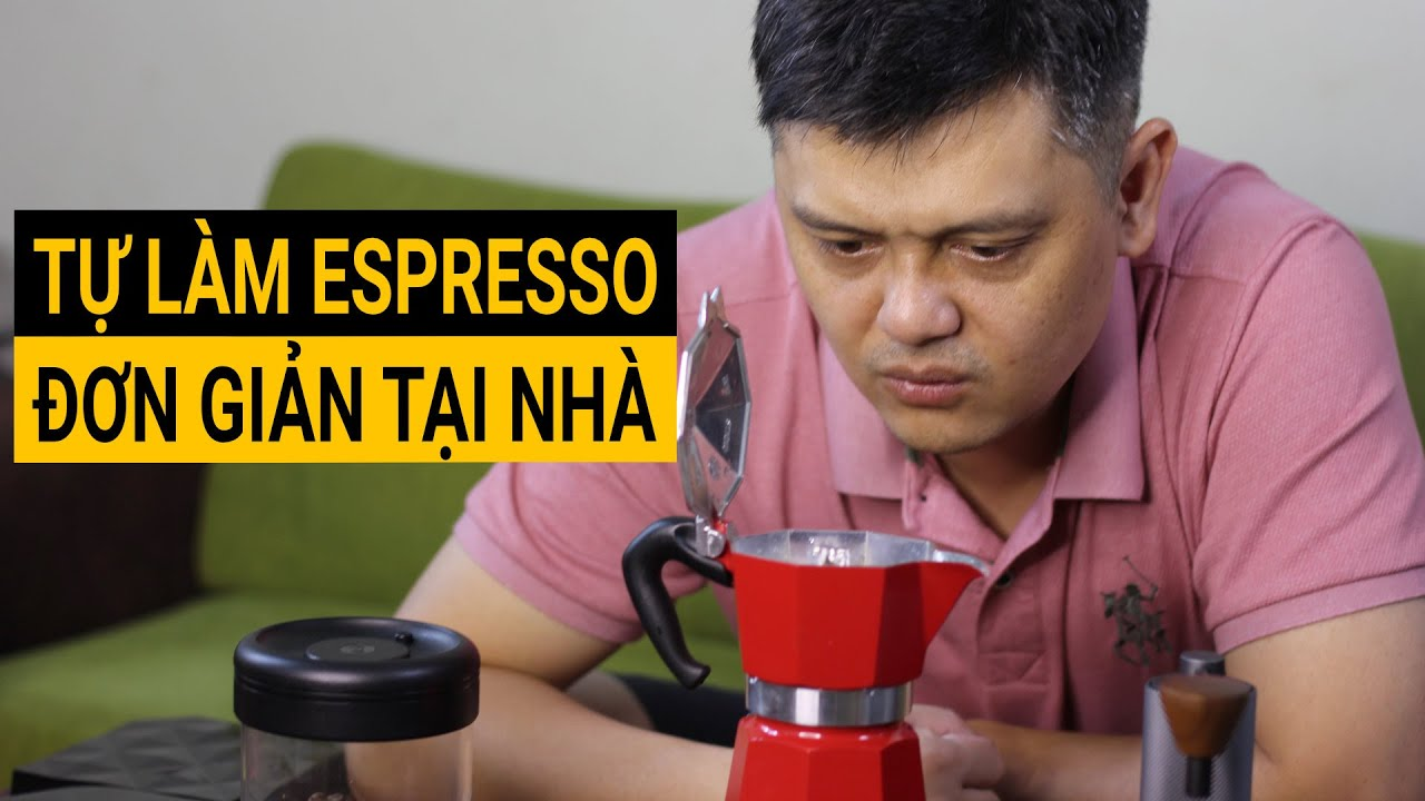 Cách ly tại nhà vẫn có Espresso uống ngon lành với dụng cụ này