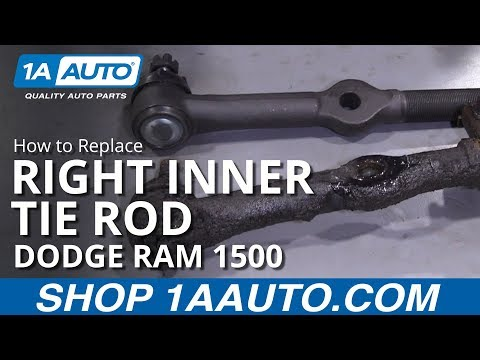 How to Replace Right Inner Tie Rod 94-02 Dodge Ram 1500