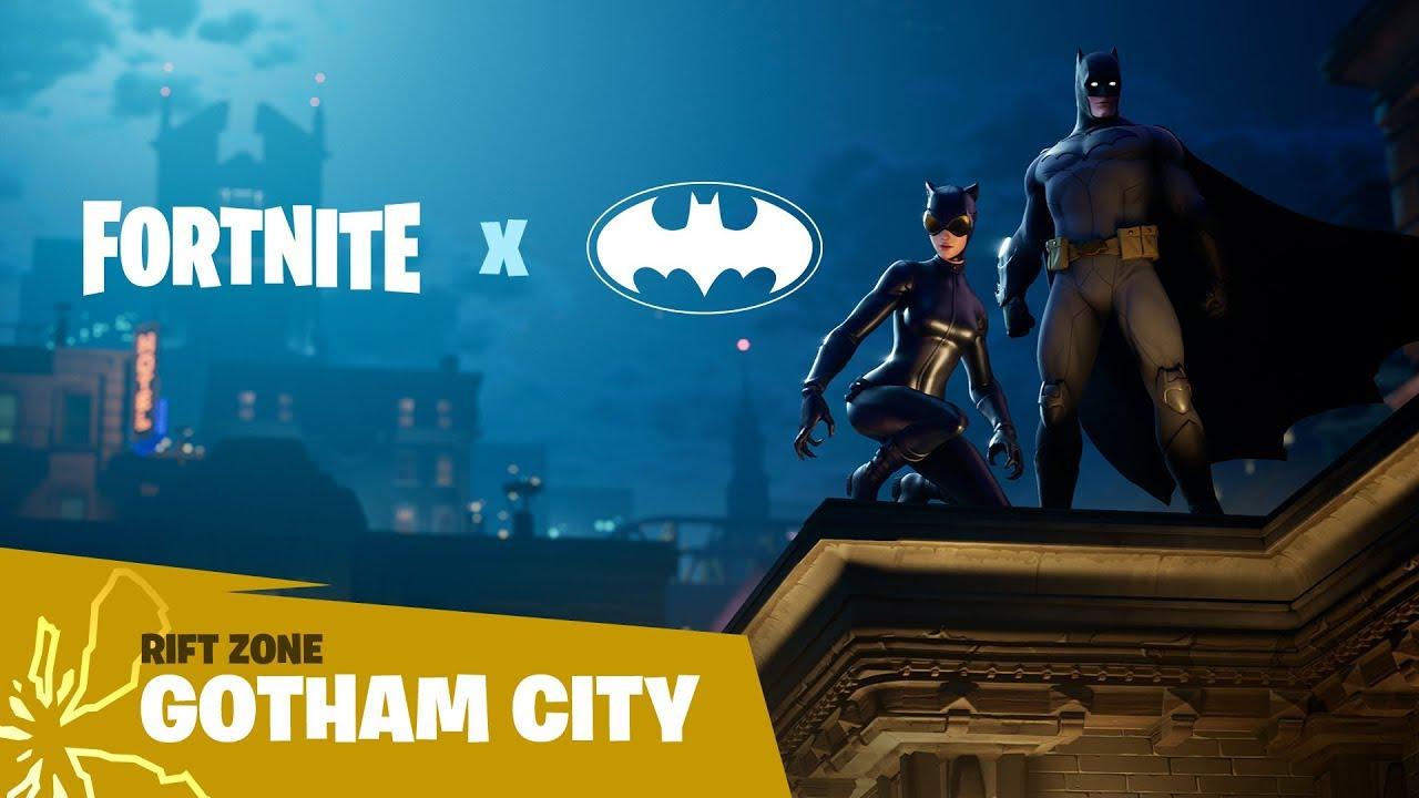 Fortnite Rift Zone Gotham City