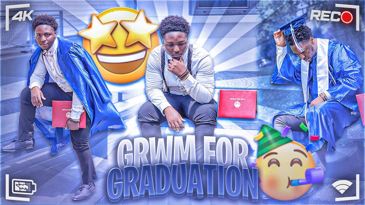 GRWM FOR GRADUATION & VLOG + AFTER PARTY 😳!