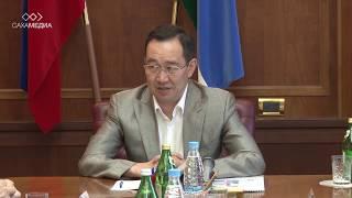 Айсен Николаев о ликвидации последствий паводка