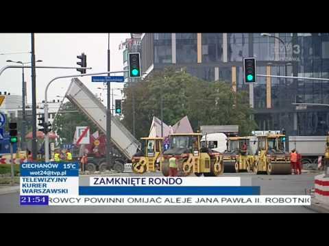 Utrudnienia przy Rondzie Daszyńskiego
