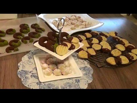 Bir hamurla 3 farkli kurabiye tarifi