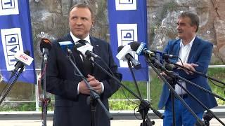 Opole w Kielcach? Konferencja prasowa prezesa TVP Jacka Kurskiego w Kielcach 30.05.2017