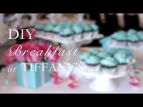 Diy Breakfast At Tiffanys Party With The Blend Tv