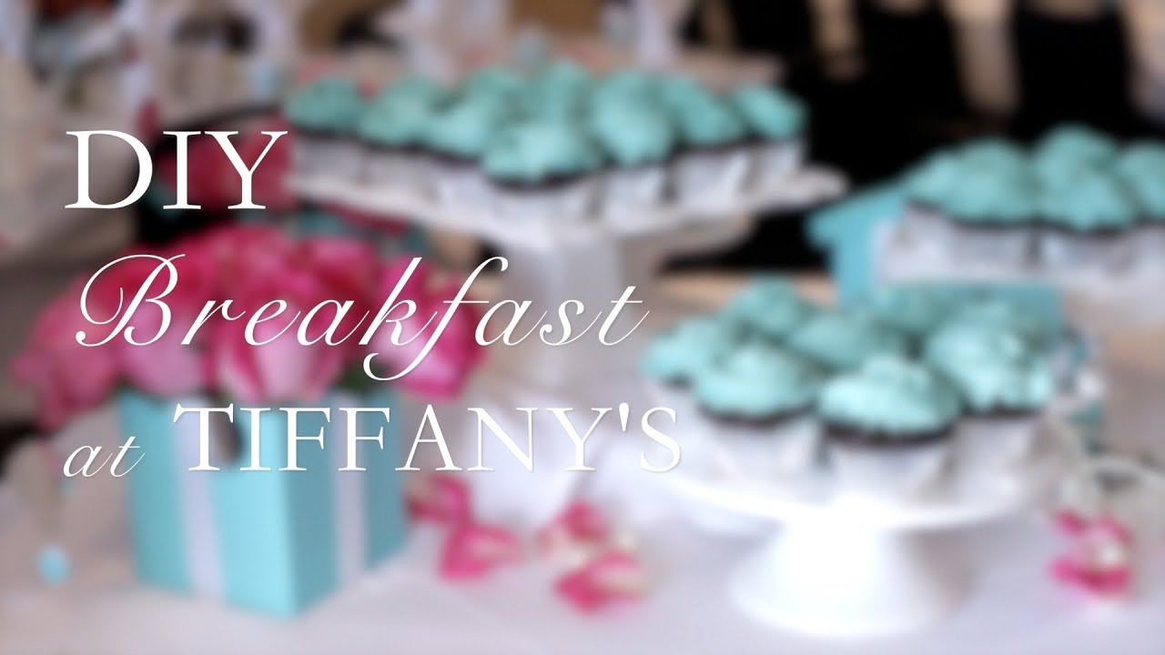 DIY Breakfast at Tiffany s Party with The Blend TV