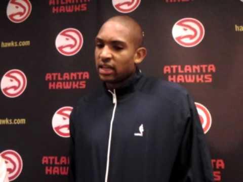 Backdoor Cut: Atlanta Hawks' Al Horford Oklahoma City Thunder presser 11.30.15
