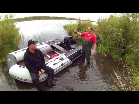 лодка пвх ривьера 3800 ск видео