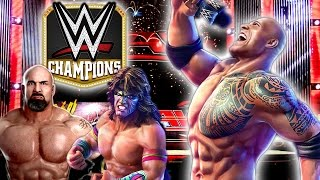 FINALLY THE ROCK HAS COME BACK TO THE WWE! WWE Champions Gameplay PART 1 (Free Puzzle RPG)