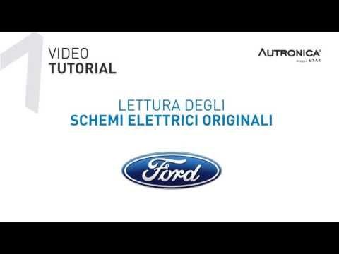 Metodo di lettura schemi elettrici Ford