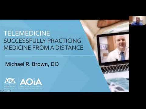 Telemedicine Successfully Practicing Medicine From a Distance