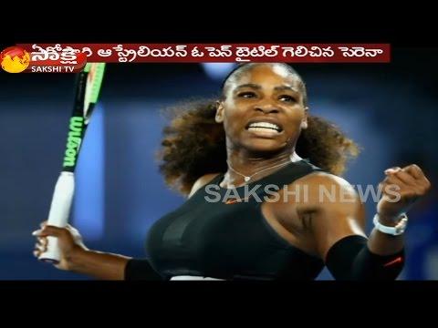 Serena Williams Beats Venus To Clinch Australian Open Title, Breaks Steffi Graf's Open Era Record