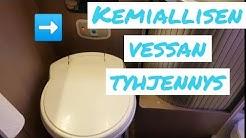 Asuntoauton vessan tyhjennys | Näin tyhjennät kemiallisen vessan | Karavaanarin arkiset toimet