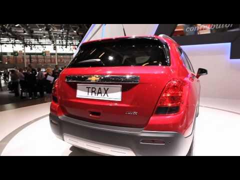 New Chevrolet Trax sneak preview - Paris Motor Show 2012