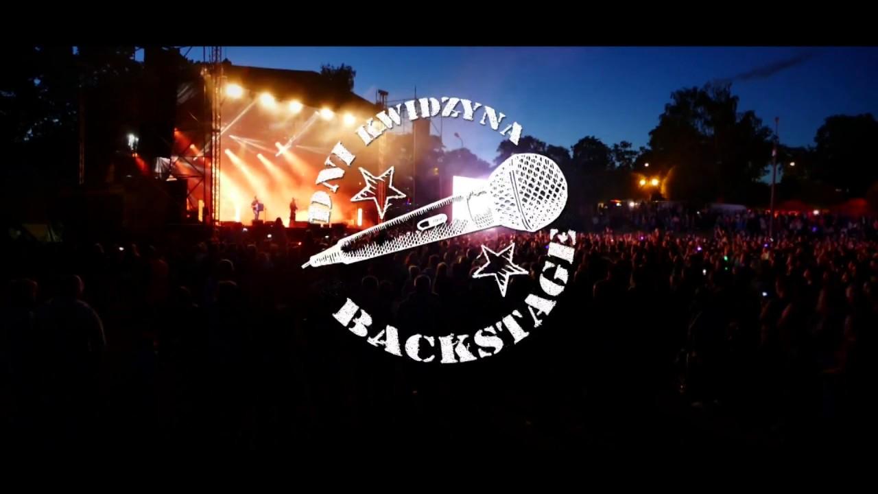 Zeus na Backstagu dni Kwidzyna.