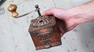 Restoring old Italian coffee grinder - Restoration project