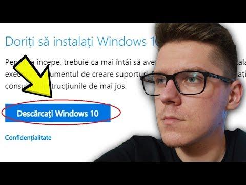 Cum Poti DESCARCA Windows 10 GRATUIT (2019)