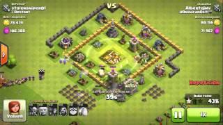 Clash of Clans farming ayuntamiento nivel 6 con duendes