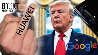 Huawei Gives Google The Finger | We Don't Want Google Back!