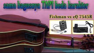 Review pre amp FISHMAN VS EQ 7545R