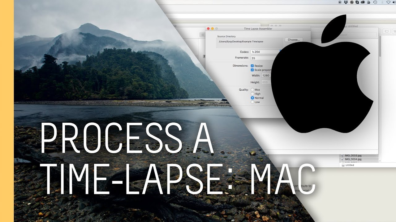 time lapse assembler mac tutorial