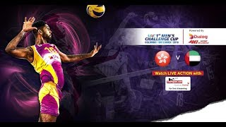 Hong Kong v United Arab Emirates – 5th Place - 1st Asian Men's Volleyball Challenge Cup