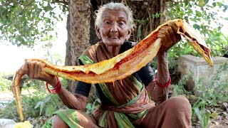 FULL SNAKE CURRY Recipe | My grandma Cooking Full SANKE Curry | Country foods