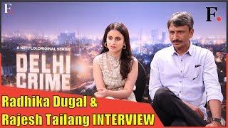 Delhi Crime Netflix   Interview with Rasika Dugal & Rajesh Tailang   SHOWSHA