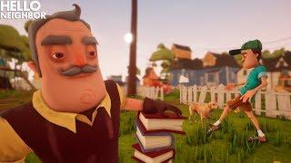 The Neighbor Becomes A VERY CREEPY OLD PROFESSOR!!! | Hello Neighbor Gameplay (Mods)