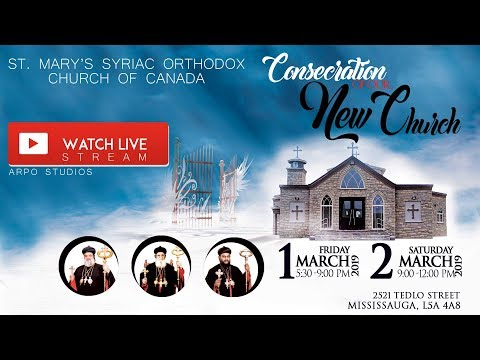 LIVE | DAY 2 | Holy Mooron Consecration of St. Mary's Syriac Orthodox Church | ARPO STUDIOS