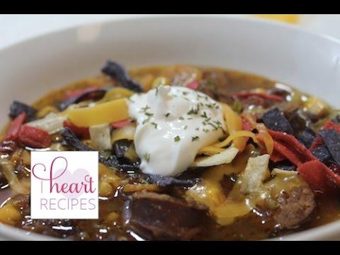 Sausage Tortilla Soup   I Heart Recipes