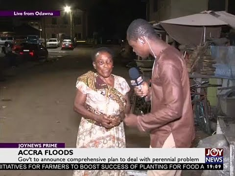 Accra Floods - Joy News Prime (6-10-17)