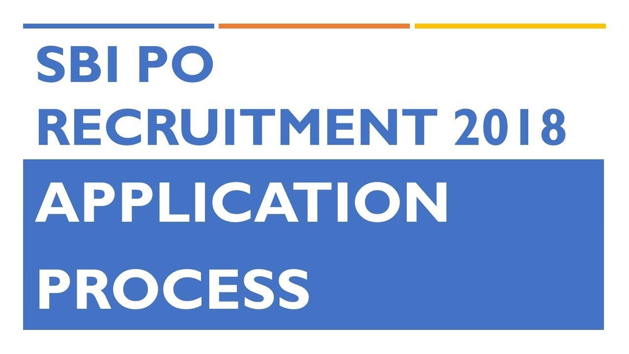 online application form for bank po 2018