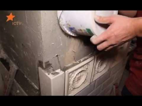 Укладка кирпича в печь печником - YouTube